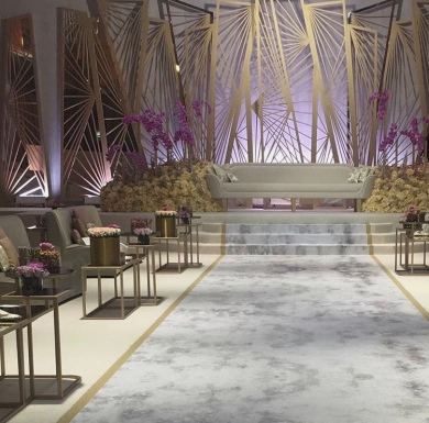 Lounge style Reception Layout