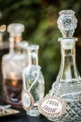 Prohibition inspired bar details