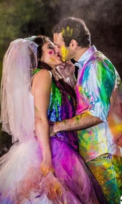 Paint war perfect for photos and fun